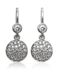 Georg Jensen | Metallic The Diamond Jubilee Regitze Earrings | Lyst