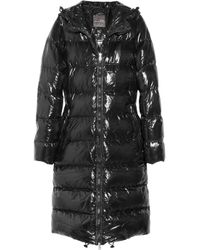 Duvetica | Black Alia Hooded Down Coat | Lyst