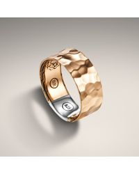 John Hardy | Metallic Bronze Band Ring for Men | Lyst
