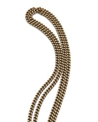 Citrine by the Stones - Metallic Inti Chain Pendant Necklace - Lyst