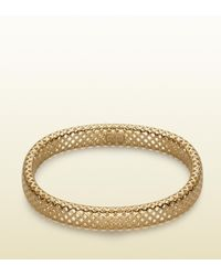 Gucci - Metallic Diamantissima Bracelet - Lyst