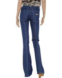 M Missoni | Blue Carre Bootcut Jeans | Lyst