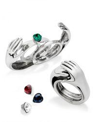 Delfina Delettrez | Metallic Secret Hands Limited Edition Ring | Lyst