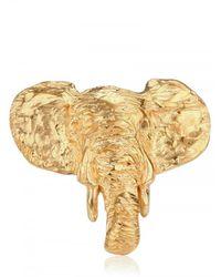 Dominique Lucas - Metallic Elephant Ring - Lyst