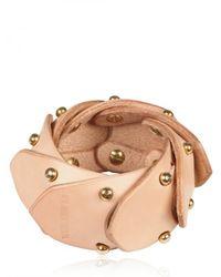 Fleet Ilya | Pink Jointed Cuff Bracelet | Lyst