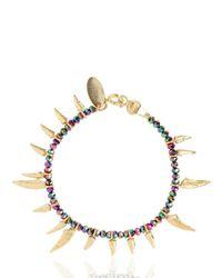 Iosselliani - Metallic Tribal Deco Bracelet - Lyst