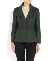 Jil Sander   Green Monet Wool and Angorablend Jacket   Lyst