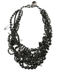 Tom Binns | Bete Noir Black Beaded Necklace | Lyst