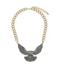 TOPSHOP | Metallic Eagle Necklace | Lyst