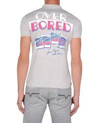 DIESEL | Gray Polo Shirt for Men | Lyst