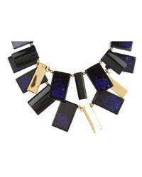 kate spade new york | Blue Clean Break Statement Necklace | Lyst