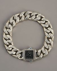 Konstantino - Metallic Paganini Lion Bracelet for Men - Lyst