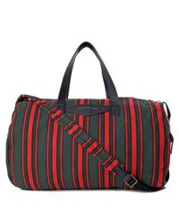 Marc By Marc Jacobs - Blue Striped Canvas Holdall Bag for Men - Lyst