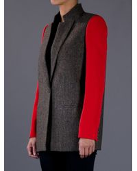 Givenchy | Gray Oversized Jacket | Lyst