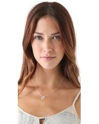 Jennifer Zeuner | Metallic Diamond Eye Necklace | Lyst
