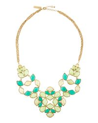Kendra Scott | Green Grayce Necklace | Lyst