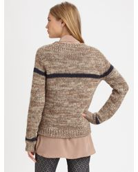Roseanna - Natural Alpaca Merino Knit Sweater - Lyst