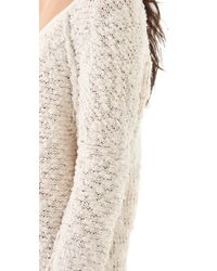 Free People - Natural Songbird Pullover - Lyst
