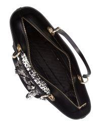 DKNY | Black Scarf Bag Tote | Lyst