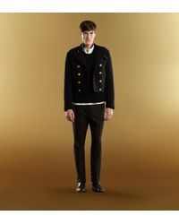 Gucci - Black Wool Crewneck Sweater for Men - Lyst