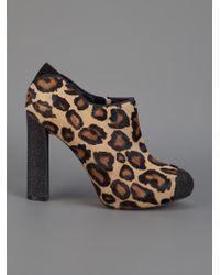 Sam Edelman   Animal Kalinda Leopard-Print Calf Hair Loafer   Lyst