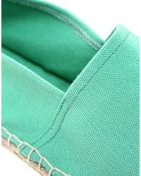 ASOS | Green Asos Marley Espadrilles | Lyst
