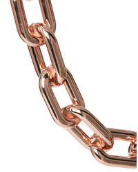 ASOS - Metallic Open Link Chain Collar Necklace - Lyst