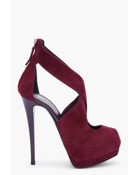 Giuseppe Zanotti | Red Burgundy Sharon Pumps | Lyst