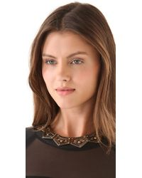 Belle Noel - Metallic Gypsy Chic Necklace - Lyst