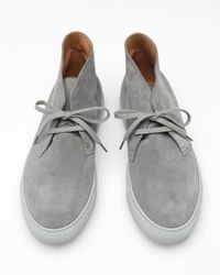 Common Projects - Gray Chukka Sneaker for Men - Lyst