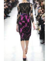 Erdem | Purple Ariel Lace Dress | Lyst
