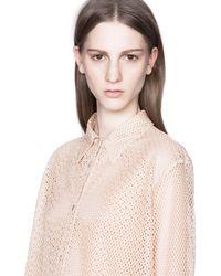 Acne | Beige Patti Net Skin | Lyst
