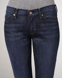 7 For All Mankind | Blue Kaylie Bootcut Jeans | Lyst
