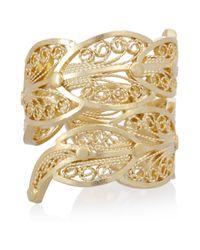 Mallarino | Metallic Paloma 24karat Goldvermeil Ring | Lyst