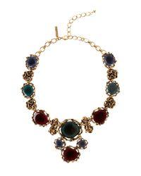 Oscar de la Renta | Multicolor Geode Necklace | Lyst