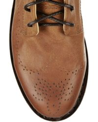 Rag & Bone - Brown Wessex Leather Lace-up Boots - Lyst