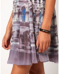 Ted Baker - Black Arm Candy Bangle - Lyst
