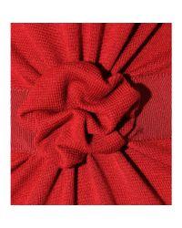 Giambattista Valli | Dress with Gathered Appliqué Trim | Lyst