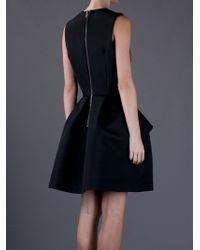 McQ Alexander McQueen | Black Structured Aline Dress | Lyst