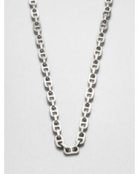 Michael Kors | Metallic Link Necklace | Lyst