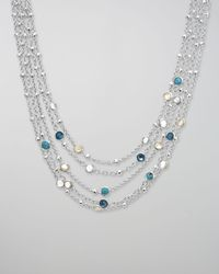 Ippolita - Multicolor Wonderland Multi-chain Necklace - Lyst