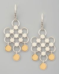 John Hardy - Metallic Gold-drop Dot Earrings - Lyst