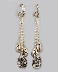 John Hardy | Metallic Kali Pebble Drop Earrings | Lyst