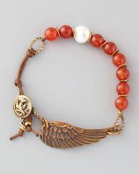 Love Heals - Braided Red Agate Bracelet - Lyst