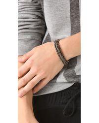 DANNIJO - Black Giulia Bracelet - Lyst