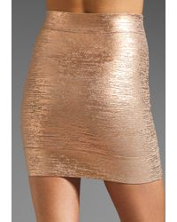 BCBGMAXAZRIA   Pink Mini Skirt   Lyst