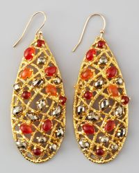 Alexis Bittar | Multicolor Siyabona Woven Earrings | Lyst