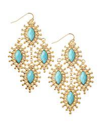 Kendra Scott | Metallic Febe Chandelier Earrings | Lyst