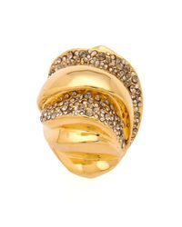 Alexis Bittar | Metallic Bel Air Sculptural Ring | Lyst