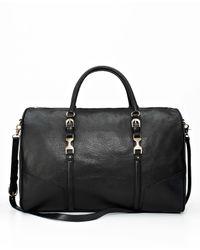 Ann Taylor   Black Weekender Duffle Bag   Lyst